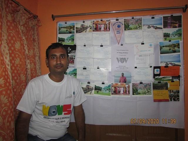 Thính giả từ Ấn Độ chúc mừng 75 năm thành lập VOV - ảnh 2