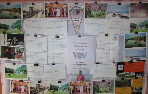 Thính giả từ Ấn Độ chúc mừng 75 năm thành lập VOV - ảnh 11