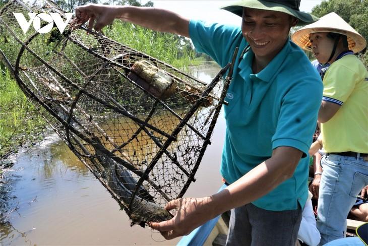 Nông dân Cà Mau làm du lịch sinh thái  - ảnh 2