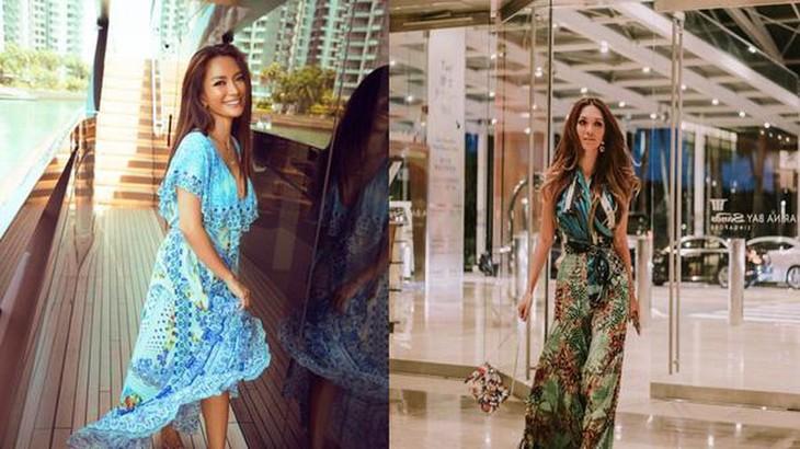 Trisha Vũ - nhà thiét kế gốc Việt nổi tiếng trong giới giải trí Singapore - ảnh 1