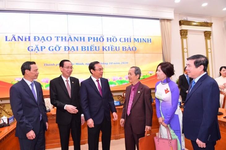 Thành phố Hồ Chí Minh trân trọng sự đóng góp của bà con kiều bào - ảnh 1