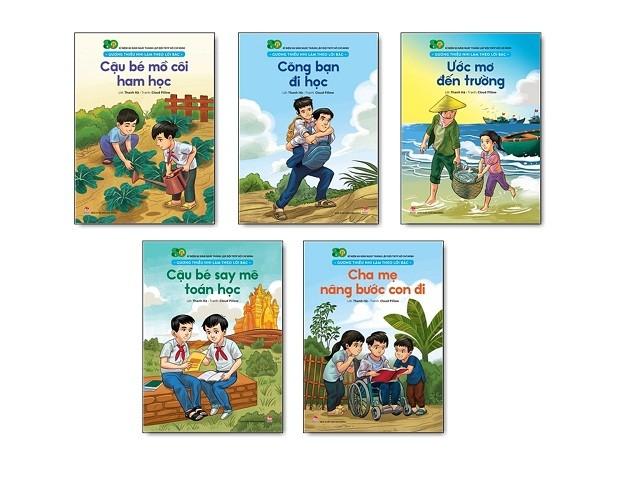 Bộ ấn phẩm kỷ niệm 80 năm thành lập Đội thiếu niên tiền phong Hồ Chí Minh - ảnh 2