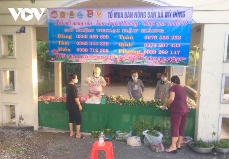 Huyện Tháp Mười, tỉnh Đồng Tháp tìm hướng tiêu thụ nông sản cho người dân - ảnh 2