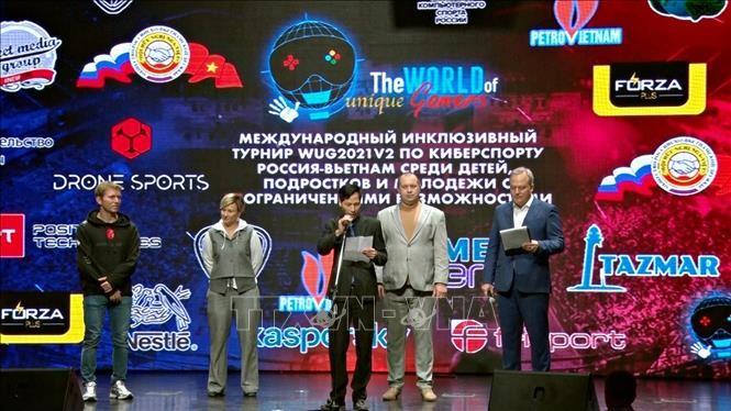 Giải thể thao điện tử Nga – Việt 2021 góp phần củng cố hợp tác nhân văn giữa hai nước - ảnh 1