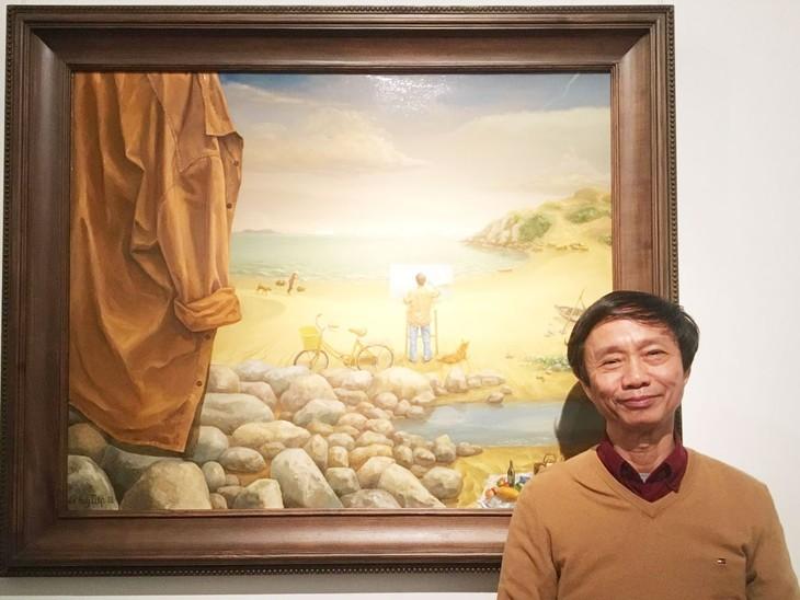 Họa sĩ Lê Huy Tiếp: người hiếm hoi thành danh với cả hội họa và tranh in - ảnh 1