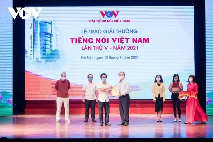 VOV trao giải thưởng Tiếng nói Việt Nam năm 2021  - ảnh 1