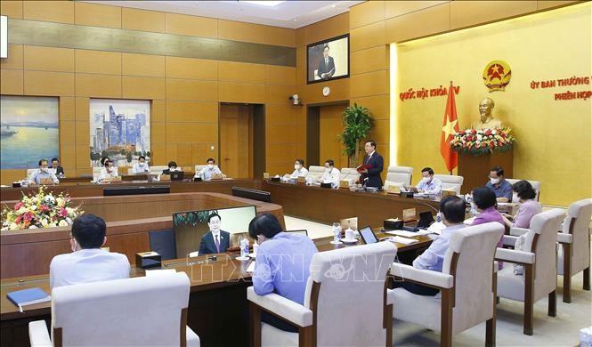 Ủy ban Thường vụ Quốc hội cho ý kiến về các nội dung kỳ họp thứ 2, Quốc hội khóa XV - ảnh 2