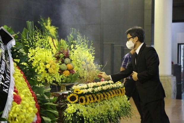 Lễ tang Giáo sư, Anh hùng Lao động Vũ Khiêu - ảnh 1