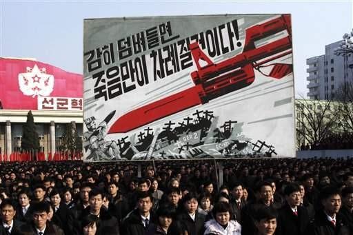 สถานการณ์บนคาบสมุทรเกาหลีทวีความตึงเครียดมากขึ้น - ảnh 1