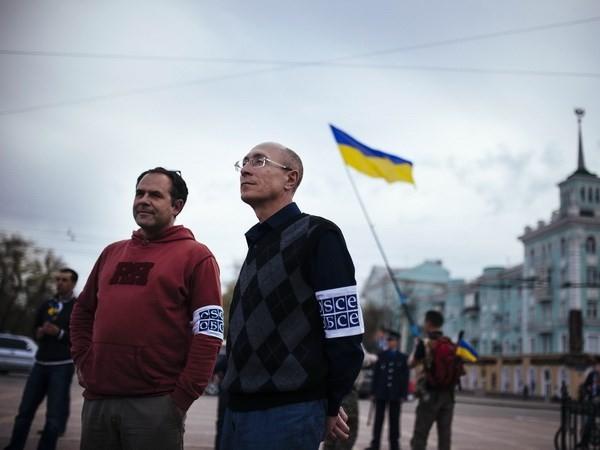 สถานการณ์ภาคตะวันออกและภาคใต้ของยูเครนยังไม่สงบ - ảnh 1