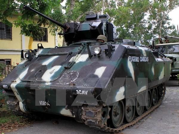 กองทัพฟิลิปปินส์สังหารผู้ก่อการร้าย 24 คนในภาคใต้ - ảnh 1