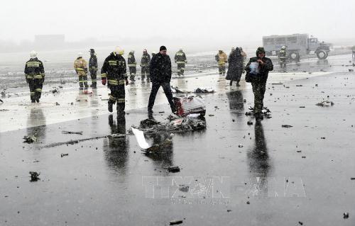สายการบินฟลายดูไบปฏิเสธสมมุติฐานที่ว่า เครื่องบินโดยสารโบอิ้ง 737 -800 ถูกโจมตี - ảnh 1