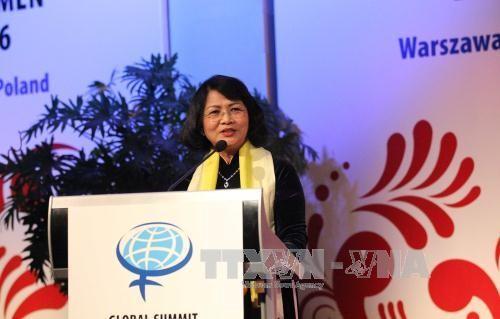 เวียดนามเข้าร่วมการประชุมผู้นำสตรีโลกครั้งที่ 26  ณ ประเทศโปแลนด์ - ảnh 1