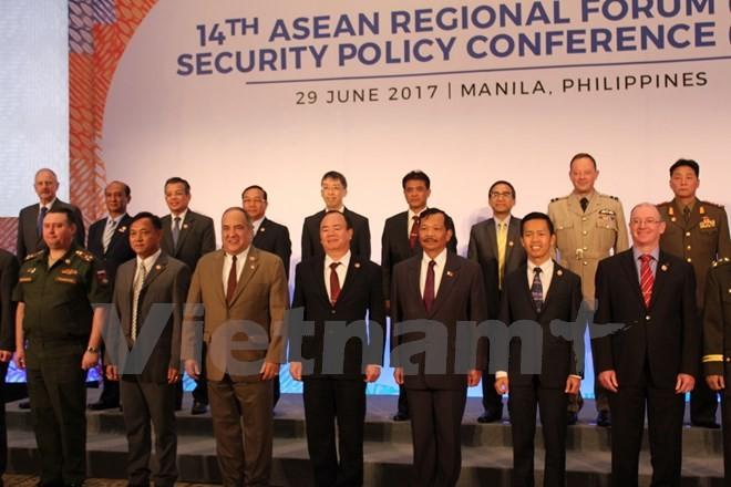 เวียดนามเข้าร่วมการประชุมนโยบายด้านความมั่นคงอาเซียน - ảnh 1