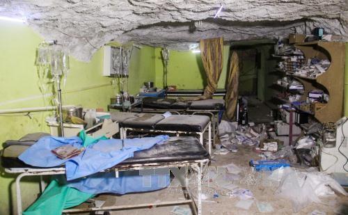 สหประชาชาติผลักดันการทำลายโรงงานผลิตอาวุธเคมีแห่งสุดท้ายในซีเรีย - ảnh 1