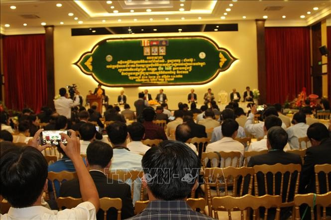 กัมพูชาแสดงความยินดีต่อโครงการต่างๆของนักลงทุนเวียดนาม - ảnh 1