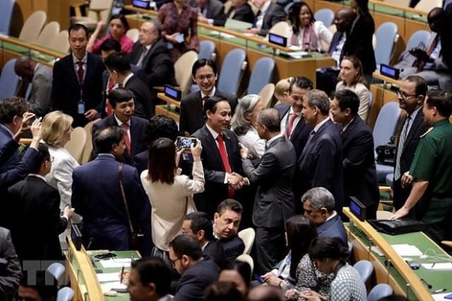 เวียดนามพยายามวางหน้าที่อย่างเป็นรูปธรรมในฐานะเป็นสมาชิกไม่ถาวรของคณะมนตรีความมั่นคงแห่งสหประชาชาติ - ảnh 1