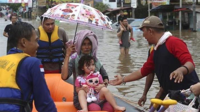 อินโดนีเซียใช้เทคโนโลยีเพื่อรับมือปัญหาน้ำท่วม - ảnh 1