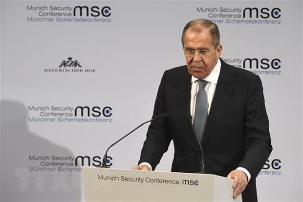 รัสเซียสนับสนุนการแก้ไขปัญหาความตึงเครียดระหว่างสหรัฐกับอิหร่านผ่านการสนทนา - ảnh 1