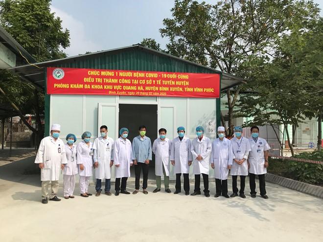 การปิดตำบลเซินโลย อำเภอบิ่งเซวียน จังหวัดหวิงฟุกเพื่อป้องกันการแพร่ระบาดโรคโควิด-19จะยุติในวันที่ 4 มีนาคม - ảnh 1