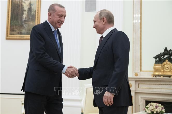 รัสเซียและตุรกีเห็นพ้องเกี่ยวกับข้อตกลงหยุดยิงในจังหวัดIdlib  ประเทศซีเรีย - ảnh 1