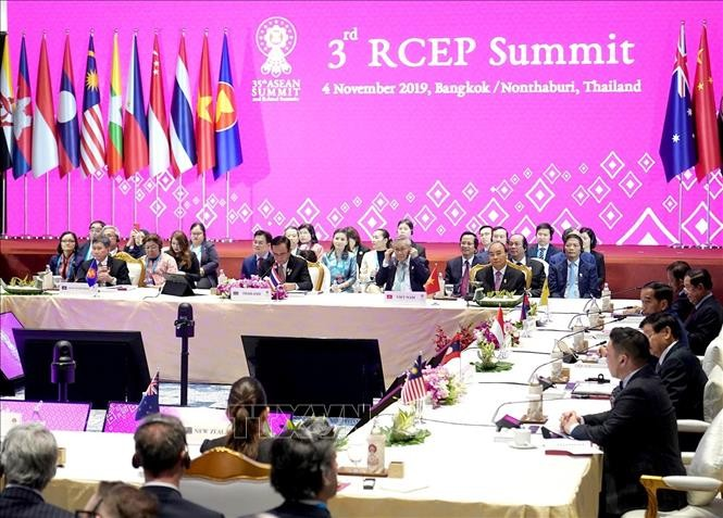 ประเทศต่างๆจะให้คำมั่นที่จำลงนามข้อตกลง RCEP ภายในปีนี้ - ảnh 1