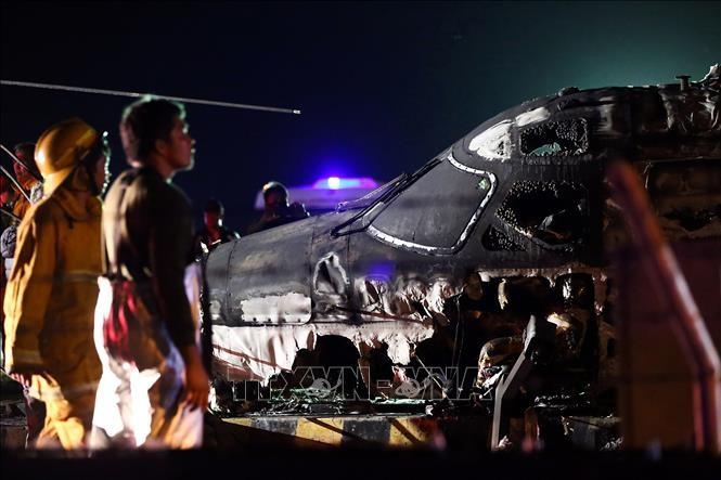 มีผู้เสียชีวิต 8 รายจากอุบัติเหตุเครื่องบินระเบิดในฟิลิปปินส์ - ảnh 1