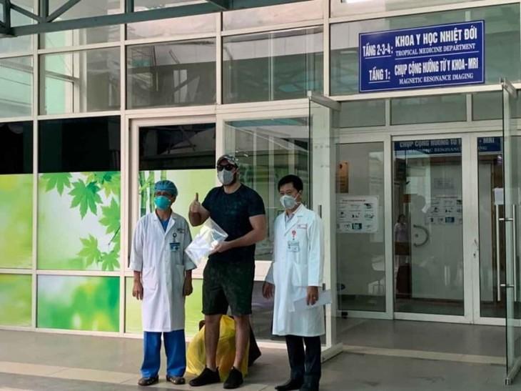 เวียดนามมีผู้ติดเชื้อไวรัสSars-CoV-2 ที่ได้รับการรักษาจนหายดีเพิ่มอีก 5 ราย - ảnh 1