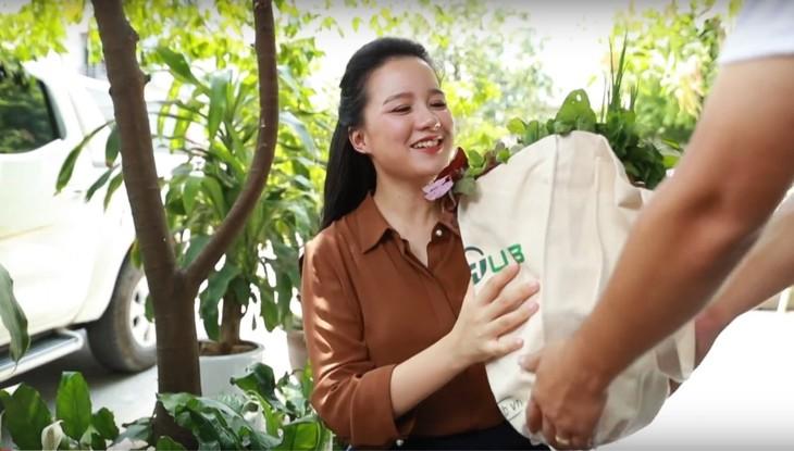 แอพพลิเคชั่น Food Hub ให้บริการส่งอาหารอินทรีย์ปลอดสารพิษจากฟาร์มถึงบ้าน - ảnh 2