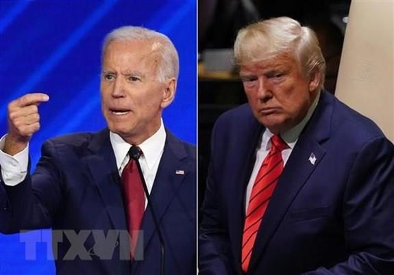 ข่าวการเลือกตั้งประธานาธิบดีสหรัฐ 2020 - นาย โจ ไบเดน กำลังมีคะแนนสนับสนุนนำหน้าประธานาธิบดี โดนัลด์ ทรัมป์ - ảnh 1