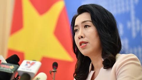 เวียดนามคัดค้านจีนที่ซ้อมรบอย่างผิดกฎหมายในหมู่เกาะหว่างซา - ảnh 1