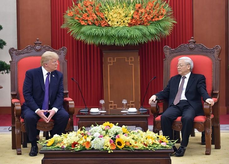 ผู้นำเวียดนามส่งโทรเลขแสดงความยินดีในโอกาสวันชาติสหรัฐ - ảnh 1