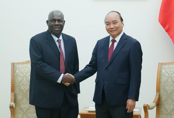 นายกรัฐมนตรีเหงวียนซวนฟุกให้การต้อนรับเอกอัครราชทูตไนจีเรียประจำเวียดนาม - ảnh 1