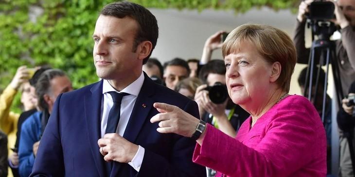 ฝรั่งเศสและเยอรมนีเห็นพ้องเกี่ยวกับการประสานงานในปัญหาที่ร้อนระอุต่างๆในโลก - ảnh 1