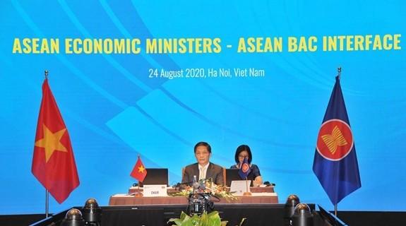 อาเซียนวางแผนฟื้นฟูเศรษฐกิจหลังภาวะโควิด-19 - ảnh 1