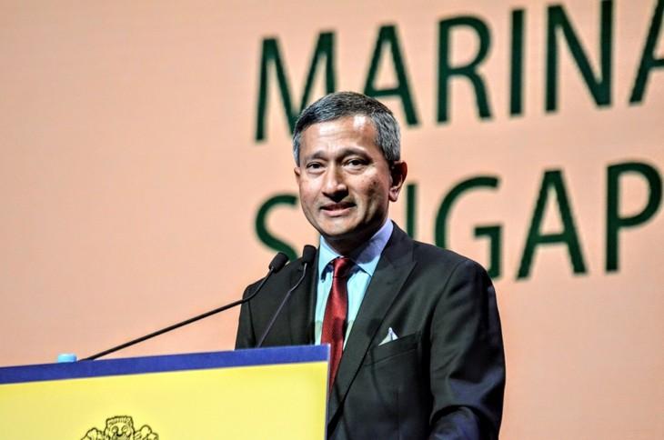 รัฐมนตรีว่ากากระทรวงการต่างประเทศสิงคโปร์เดินทางไปเยือน 3 ประเทศในเอเชียตะวันออกเฉียงใต้ - ảnh 1