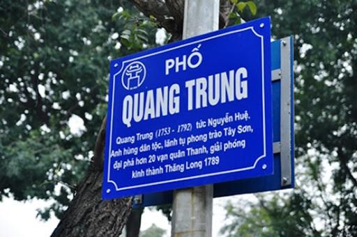 ตอบจดหมายคุณผู้ฟังวันที่ 24 เมษายน - วิธีการตั้งชื่อถนนในเวียดนาม - ảnh 4