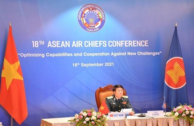 เวียดนามเสนอให้เสริมสร้างศักยภาพของกองทัพอากาศประเทศสมาชิกอาเซียนในการรับมือภัยพิบัติและโรคระบาด - ảnh 1