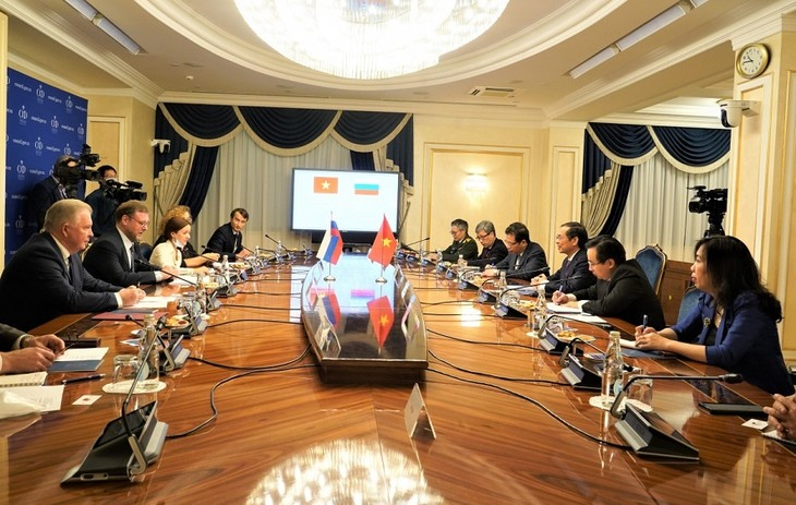 เวียดนามคือหุ้นส่วนที่สำคัญและใกล้ชิดของรัสเซียในภูมิภาคเอเชีย-แปซิฟิก - ảnh 1
